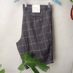 NWT Goodfellow Linen Blend Linden Slim Shorts 42